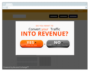 Exit Pop Up for Lead Generation