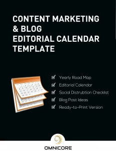 Free Blog Editorial Calendar Template
