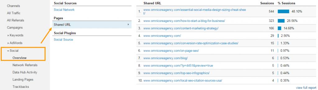 Analyze Social Traffic in Google Analytics 2