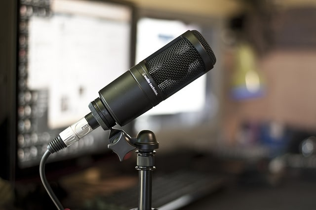 Audio Technica AT2020 USB Podcasting Mic
