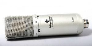 Editors Keys Studio Series SL300 Podcasting Microphone