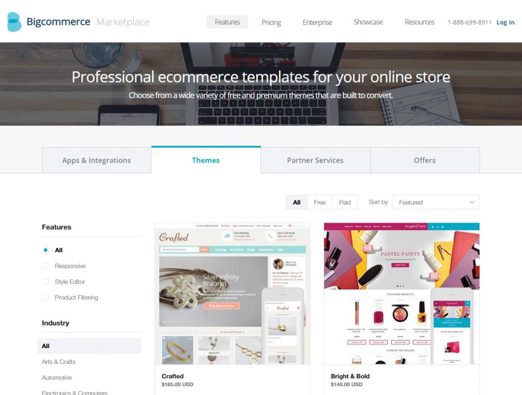 BigCommerce eCommerce Theme Store