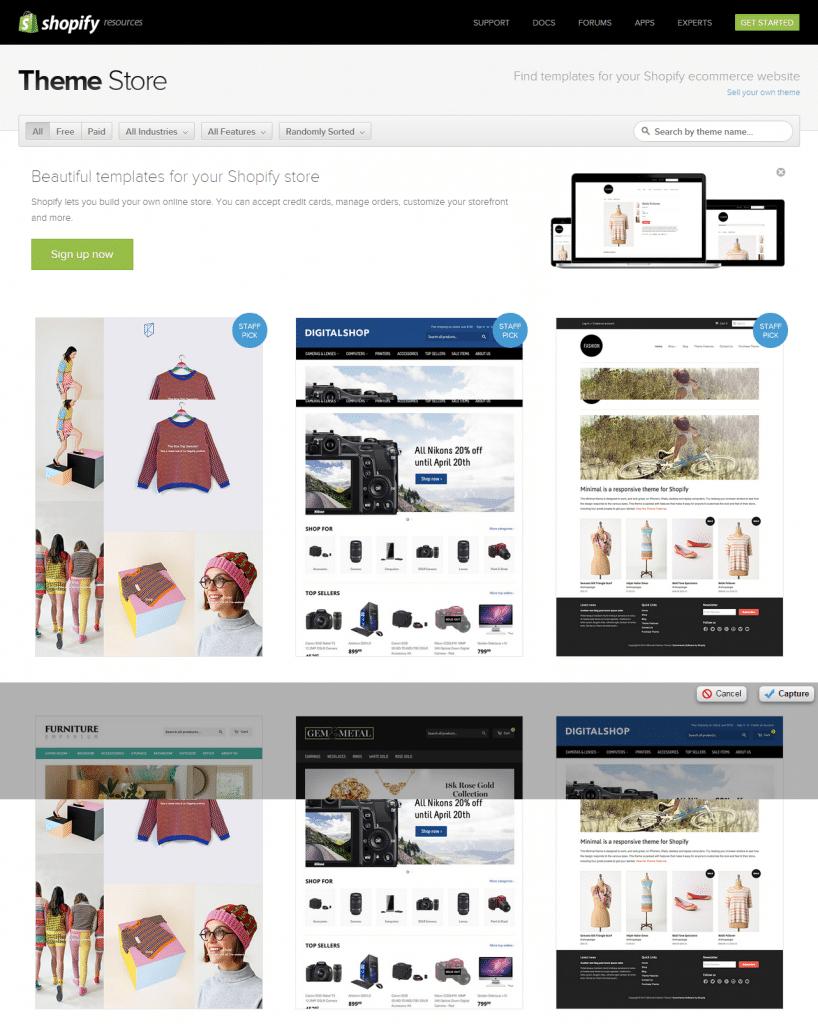 Shopify eCommerce Theme Store