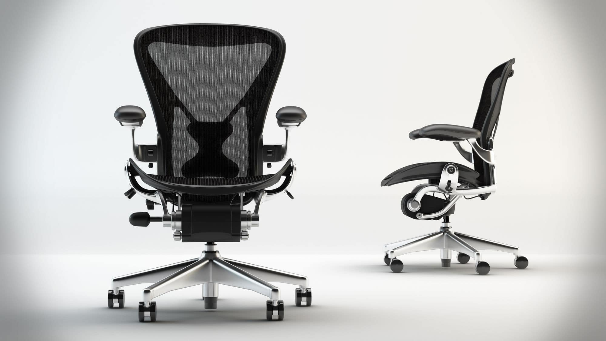 best ergonomic office chair under 1000 herman miller aeron chair