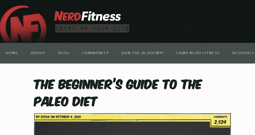 The Beginner s Guide to the Paleo Diet Nerd Fitness