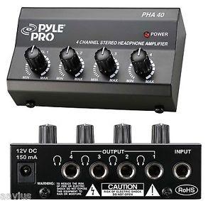Pyle-Pro HHA40 Headphone Amplifier