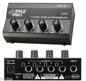 Pyle-Pro HHA40 Headphone Amplifier
