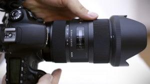 Sigma 18-35mm F1.8 DC HSM L