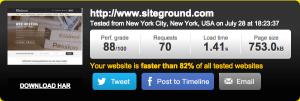 SiteGround Hosting Speed