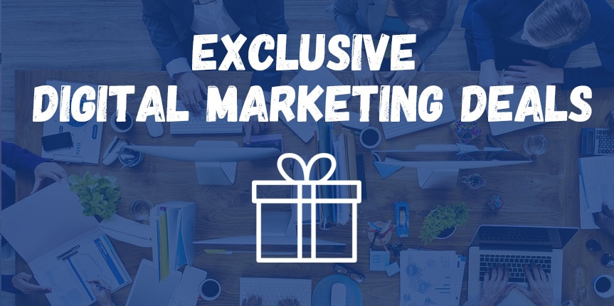 Digital Marketing Discount Deals