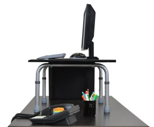 Portable Standing Desk Solution