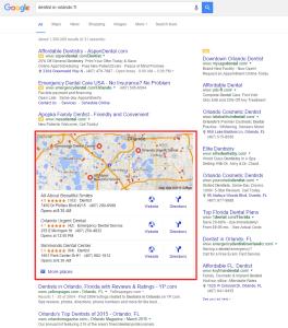 Local Search Results Dentists in Orlando FL