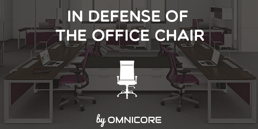In Defense Of the Office Chair