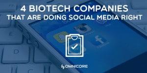 BioTech Companies Doing Social Media Right
