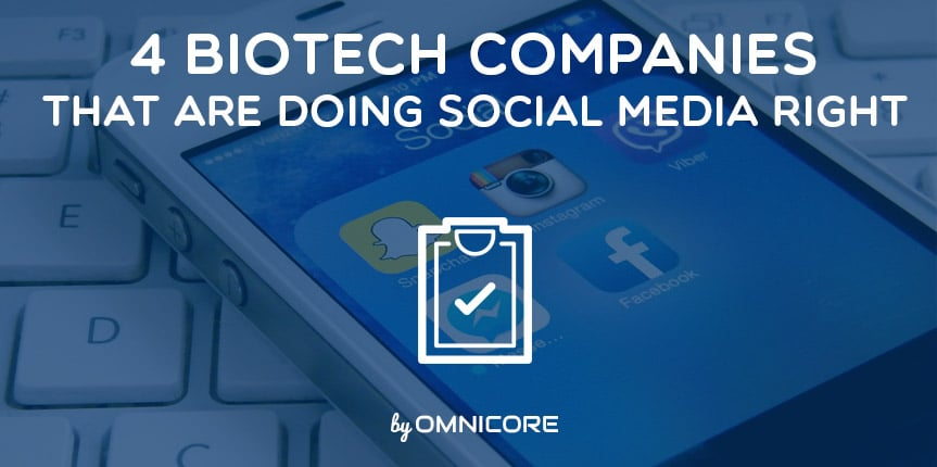 BioTech Companies Doing Social Media Right