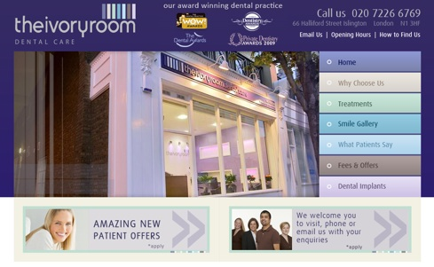 Dental Website Example