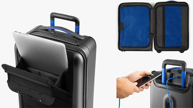 Bluesmart One Smart Carry On Luggage