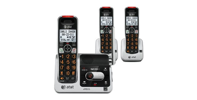 AT&T Cordless Answering System with 3 Handsets
