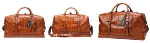 Iblue Genuine Leather Duffel Bag