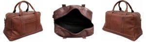 Kenneth Cole Leather Duffel Bag