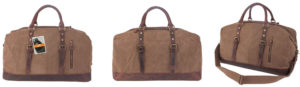 Leaper Canvas Travel Duffel Bag