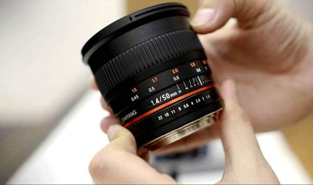 Rokinon 50mm F1.4 Prime Lens for Sony