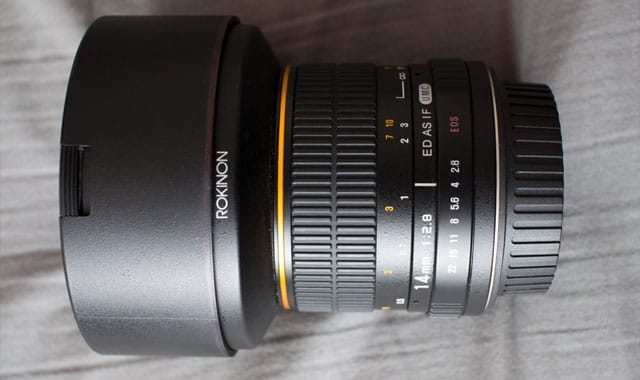 Rokinon FE14mm F2 Wide Angle Lens