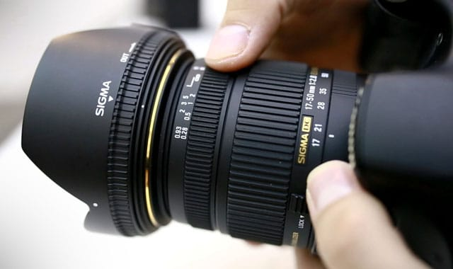 Sigma 17-50mm f2 Video Zoom Lens for Sony