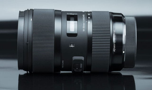 Sigma 18-35mm F1.8 Lens for Sony