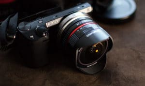 Sony 16mm f2.8 Fisheye Lens
