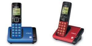 VTech CS6719-15 Cordless Telephone Blue Red