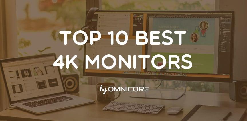 3f97cd3e9 10 Best 4K Monitors for 2019 (UltraWide   Gaming) + Editors Pick