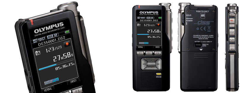 Olympus DS-3500 Professional Dictation Digital Recorder