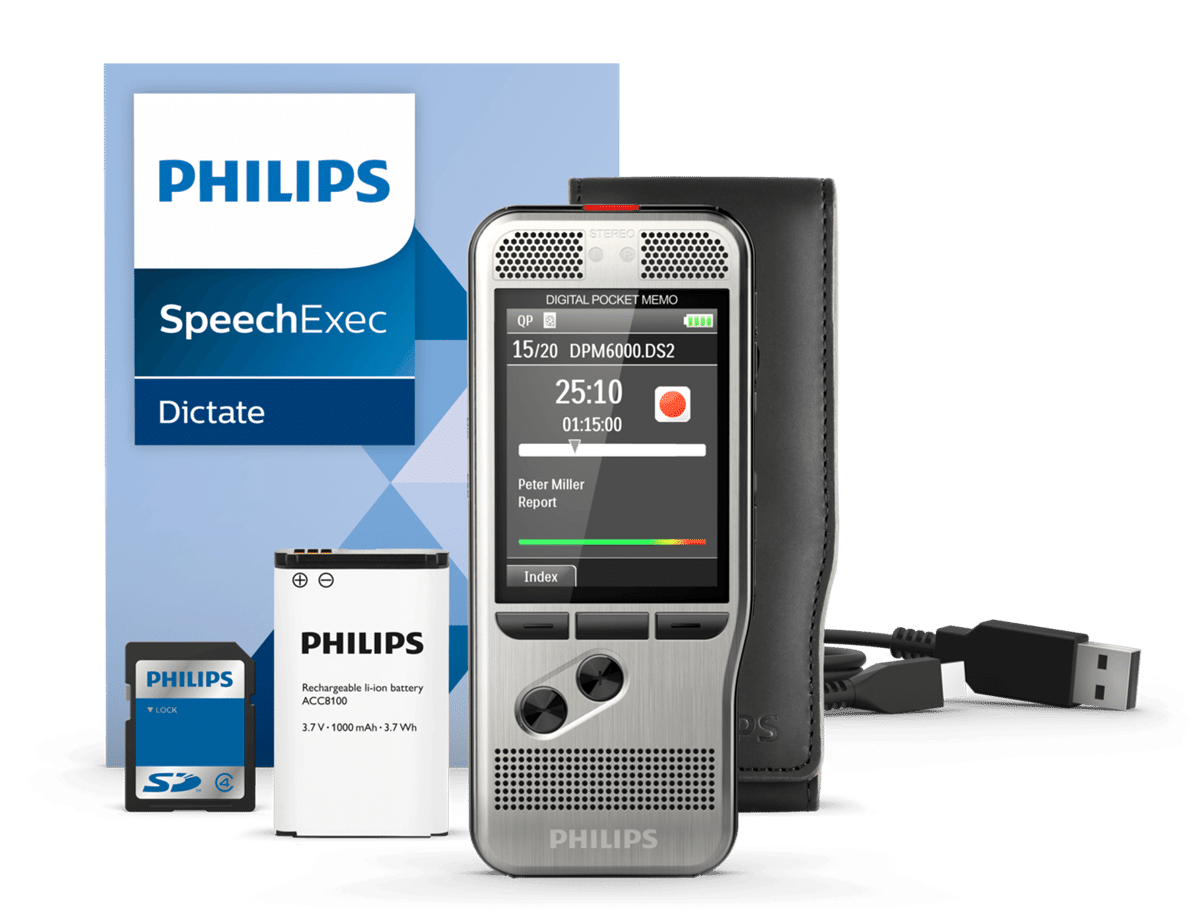 Philips DPM6000 Digital Voice Recorder Editors Pick