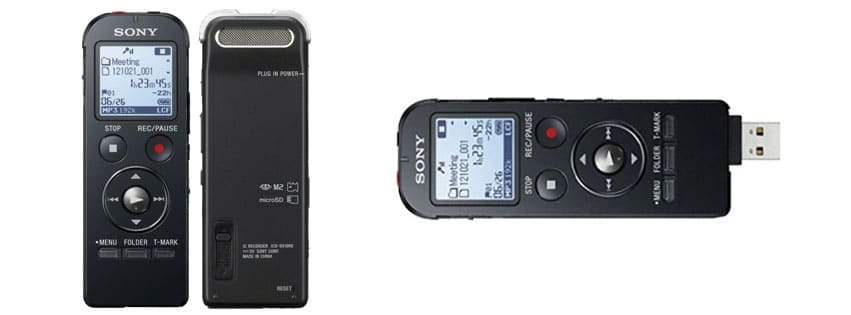 Sony ICD-UX533BLK Digital Voice Recorder