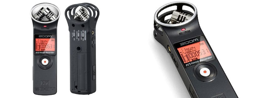 Zoom H1 Handy Portable Digital Recorder