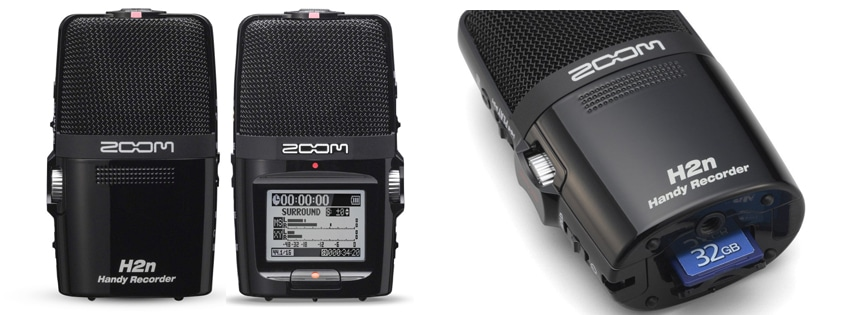 Zoom H2n Handy Digital Recorder