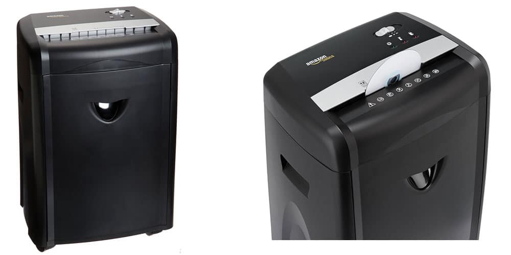 Basics 12 Sheet Paper Shredder