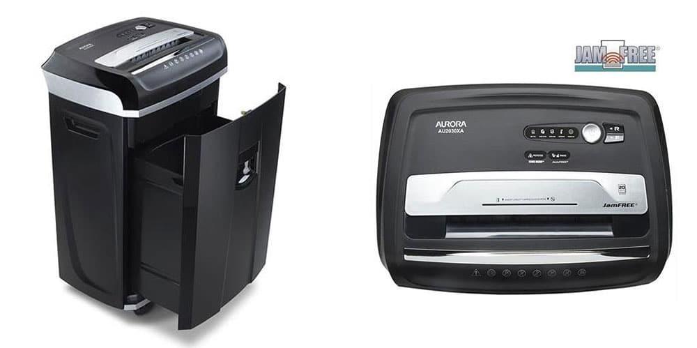 aurora jamfree au2030xa paper shredder - Best Paper Shredder For The Money