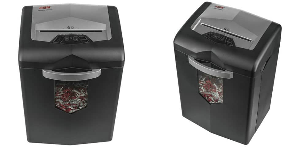 small paper shredder Paper shredder styles wastebasket paper shredders, which are the size of a small trashcan, are usually adequate for personal use -- that is, light-volume needs like shredding tax forms or monthly.