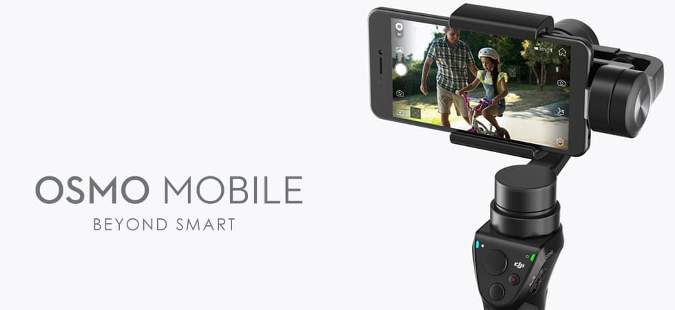 DJI Osmo Mobile Smartphone Gimbal Editors Pick