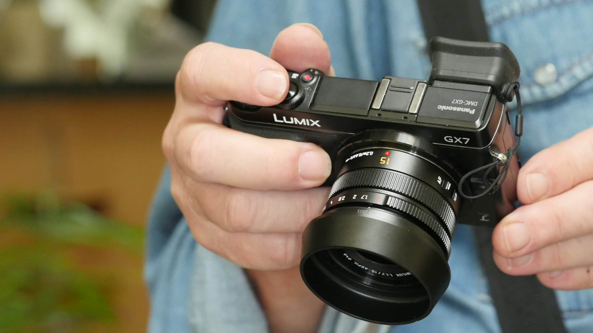 Panasonic 15mm 1.7