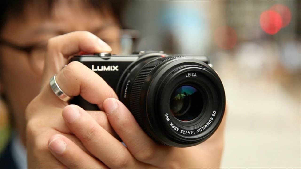 Panasonic 25mm 1.4