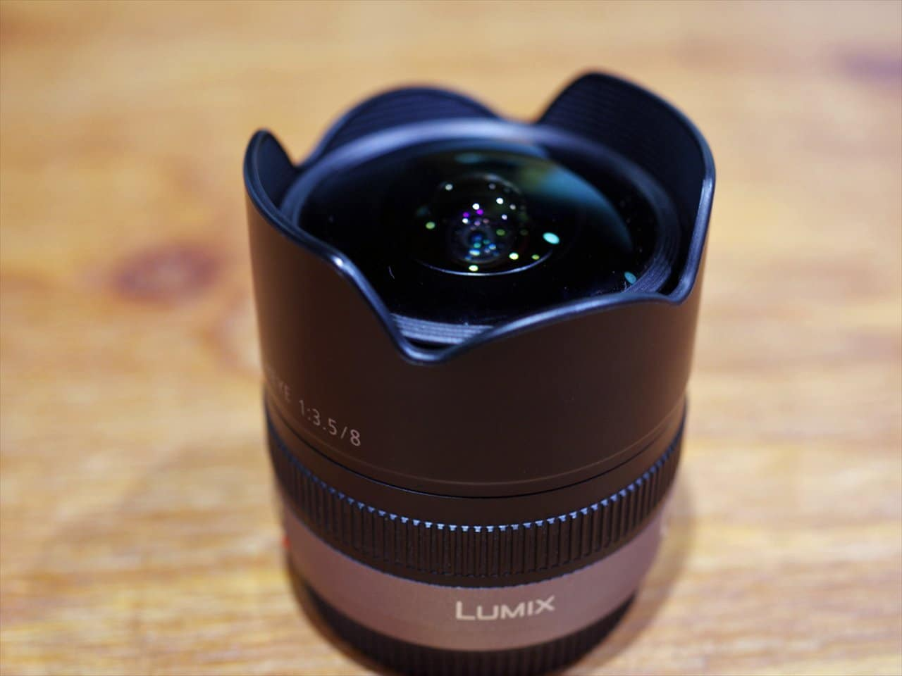 Panasonic 8mm f3.5 fish eye