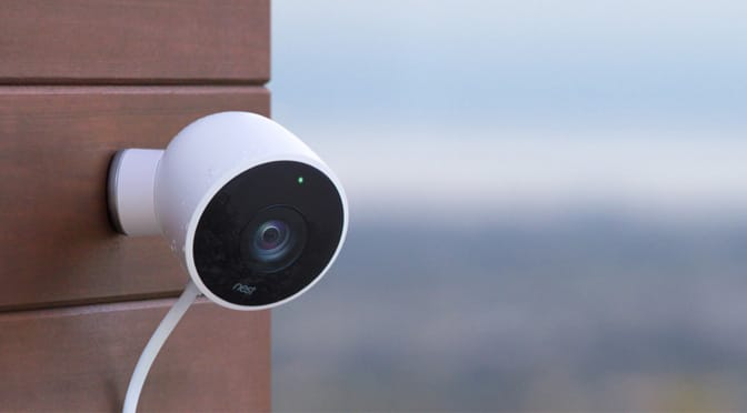 Nest Outdoor Wireless Security Camera
