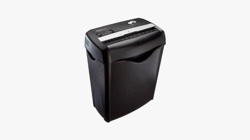 AmazonBasics 6-Sheet Home Office Shredder List