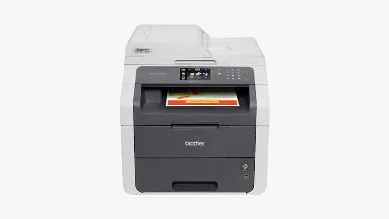 Brother MFC9130CW Wireless All-In-One Printer List