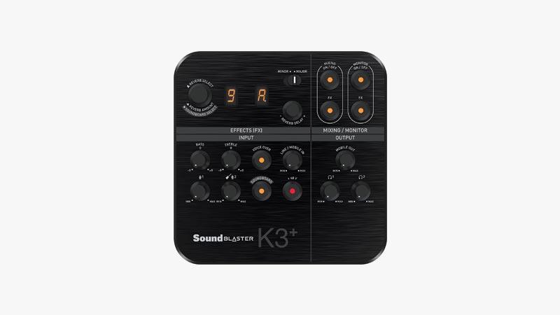 Creative Sound Blaster K3+ Digital Mixer