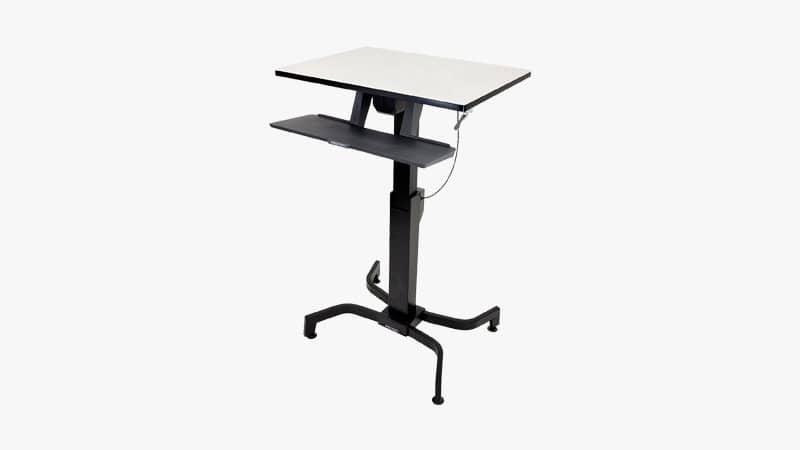 Ergotron WorkFit-PD Sit-Stand Desk List