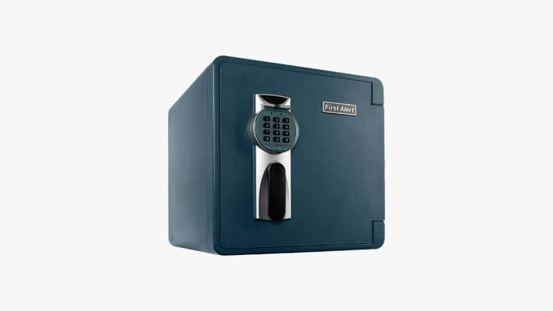 Fire Alert 2092DF Waterproof and Fire-Resistant Digital Safe